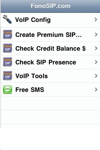 FonoSIP.com VoIP