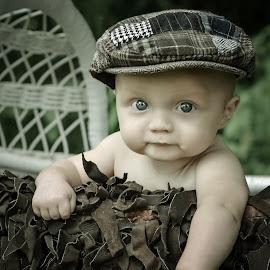 cutie pie by Beth Lewallen Showman - Babies & Children Babies