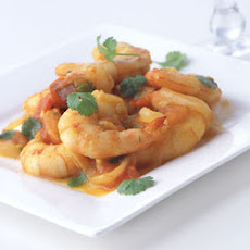 Indian-Spiced Shrimp