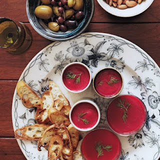 Beet-and-Cauliflower Soup with Dill