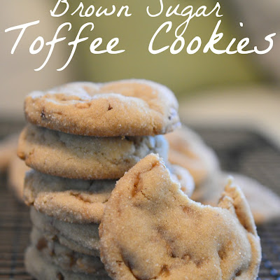 Brown Sugar Toffee Cookie