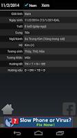 Screenshot of Xem bói ngũ hành