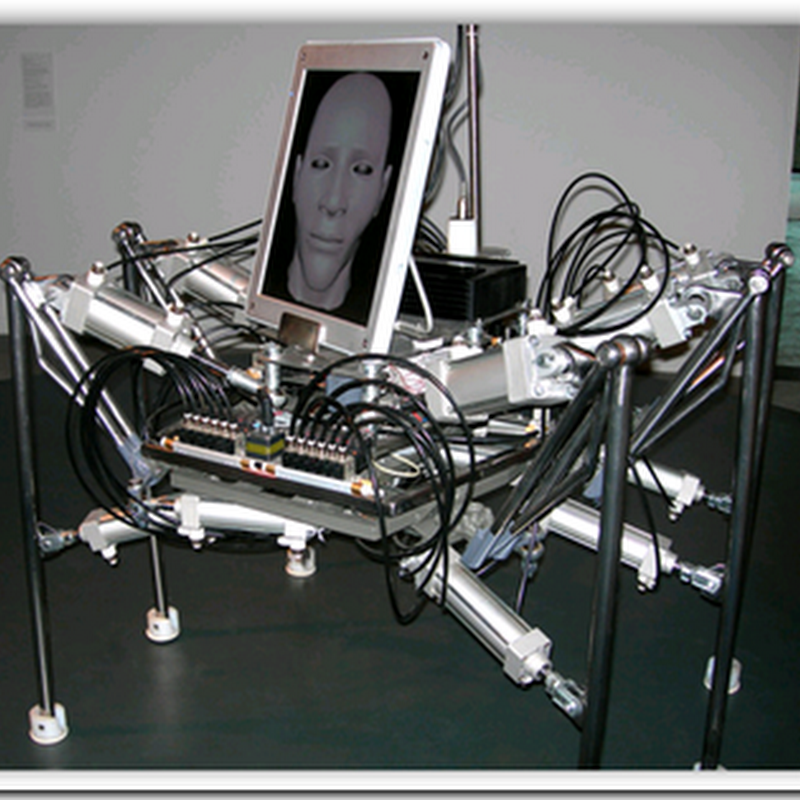 WALKING HEAD ROBOT – Tablet PC Robotics?