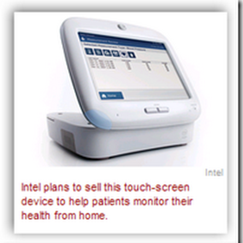 FDA Approves Intel Home-Care Touch Screen Device