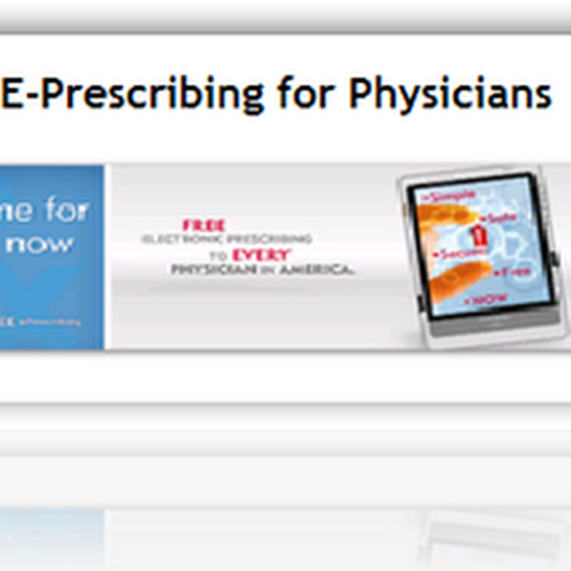 "Google Health adds the ""Free"" E-Prescribing Program from Allscripts to the Health Record"
