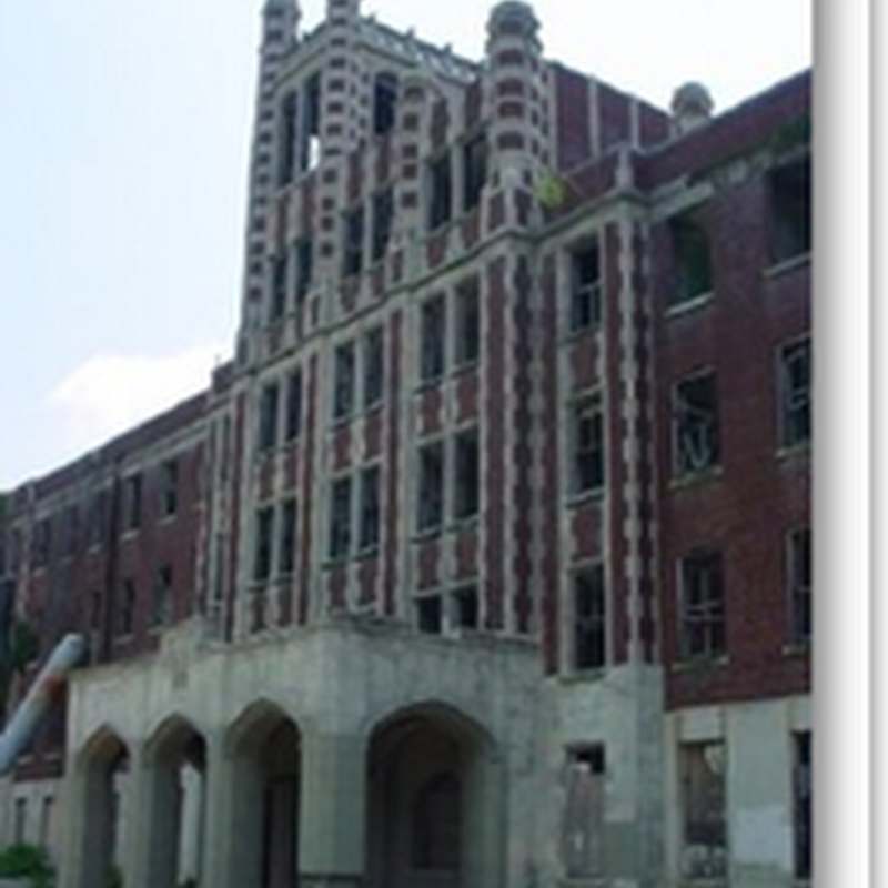 Another Spooky Old Hospital Becomes Hot Real Estate - Kentucky