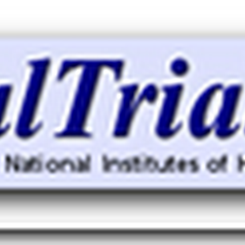National Institutes Of Health Launches ClinicalTrials Results Database