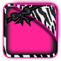 THEME - Zebra Hot Pink HD icon