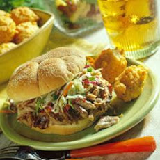 North Carolina Pulled Pork BBQ Sandwiches