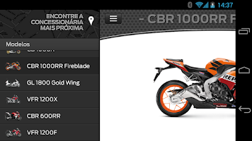 Screenshot of Moto Honda