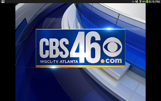 Screenshot of CBS46 Mobile
