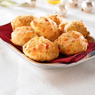 Red Pepper Asiago Gougère Bites