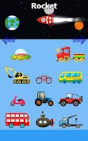 Screenshot of Funny Cars Game for Kids