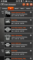 Screenshot of H-D Events: Daytona
