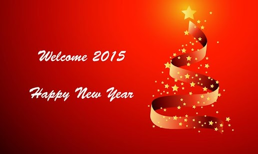 Welcome New year 2015 eCards- screenshot