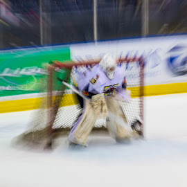 That goalie just pops! by Nathan Bezner - Sports & Fitness Ice hockey