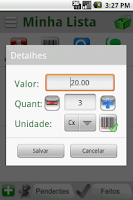 Screenshot of Lista de Compras - Super Trial