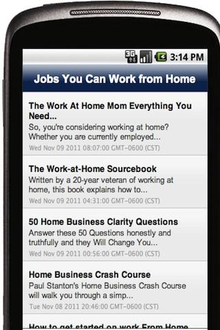 Jobs You Can Work from Home