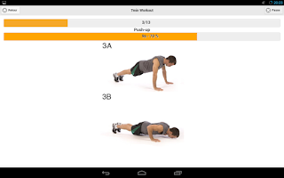 Screenshot of 7 Minutes Workout