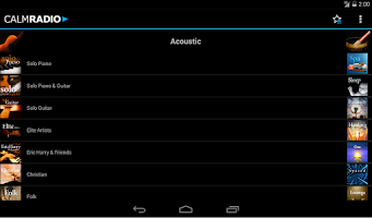 Screenshot of Calm Radio Multimix - Android