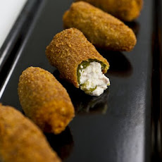 Sausage and Ricotta Jalapeño Poppers Recipe