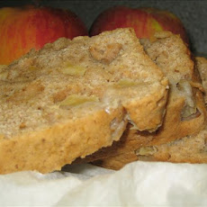 Lower Fat Apple Bread