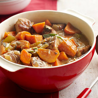 Pork and Sweet Potato Stew
