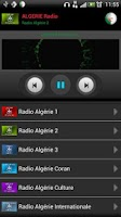 Screenshot of RADIO ALGERIE