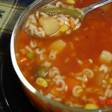 Easy Alphabet Vegetable Soup