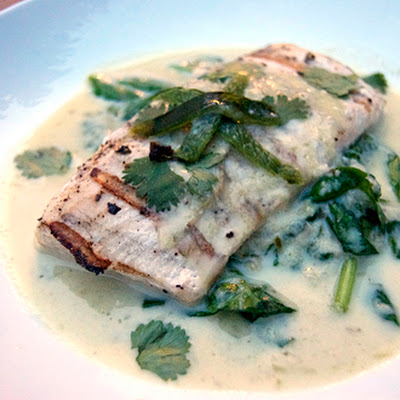 Mahi Mahi w/ Green Chile-Coconut Broth