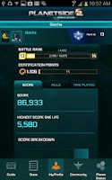Screenshot of PlanetSide 2 Mobile Uplink