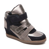 Ash Boogle Wedge Trainer HIGH TOP