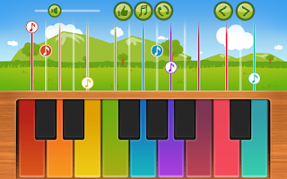 Screenshot of Kids Melody Piano for babies