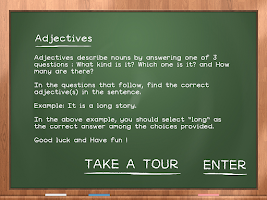 Screenshot of Adjectives For Kids