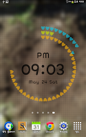 Screenshot of Polar Clock Free