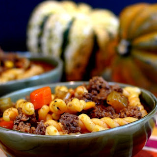 Zingy Slow Cooker Hamburger Soup