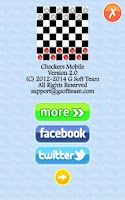 Screenshot of Checkers Mobile