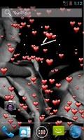 Screenshot of Floating Hearts Live Wallpaper