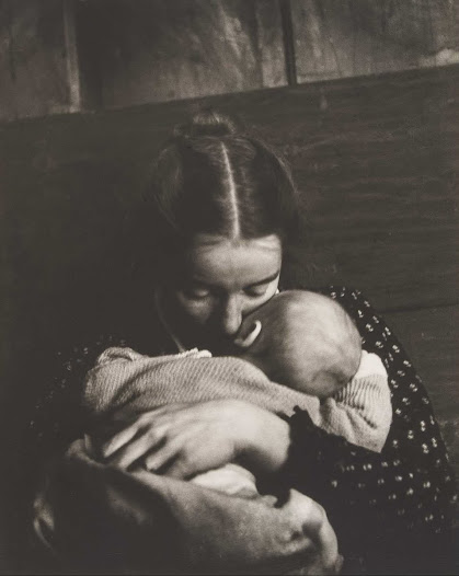 Unlike her contemporaries—whose documentary photographs captured the horrors of war, social injustice, and general strife—Dorr focused on the painterly aspects of rural life, a life she had constructed.  Dorr's body of work about motherhood is a nostalgic celebration of the simplicities of life and a reminder of the beauty found in the acts of everyday living in the face of very difficult moments in her life.