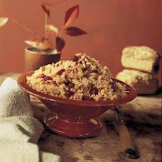 Mixed-Grain Pilaf with Cranberries and Pine Nuts