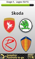 Screenshot of Logo Quiz Car Choices