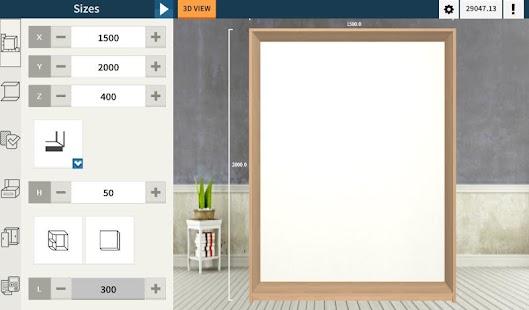 Utile closet 3d designer apk for blackberry download for 3d wardrobe planner