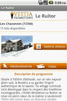 Screenshot of Hôtel Résidence Le Ruitor