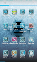 Screenshot of ADW / NOVA - Frozen Android