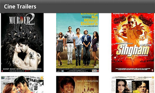 cinetrailers-bollywood-movies for android screenshot