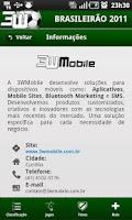 Screenshot of Brasileirão 2011 3WMobile