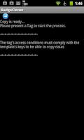 Screenshot of NFC Mifare Classic Scanner