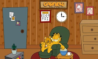 Screenshot of Home Sweet Garfield Live WP