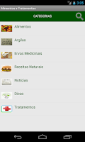 Screenshot of Alimentos e Tratamentos