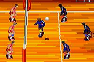 Screenshot of Striking Volleyball